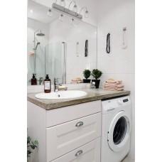 Комплект для ванной белый