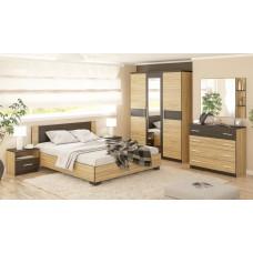Комплект для спальни дерево с полосами
