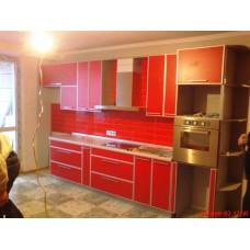 Красная кухня ДСП