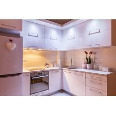 Кухня пленка яркая белая