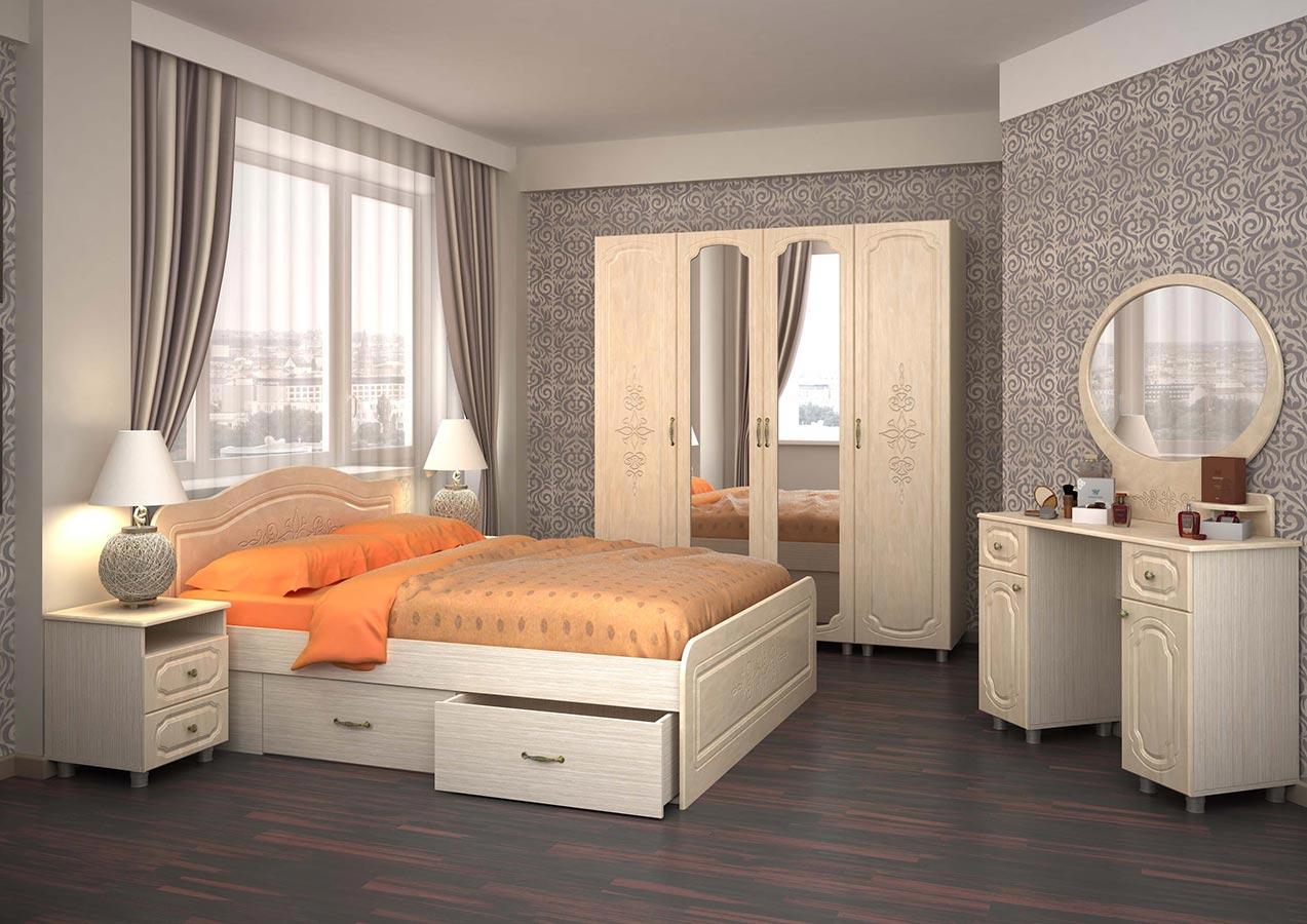 Комплект для спальни узоры