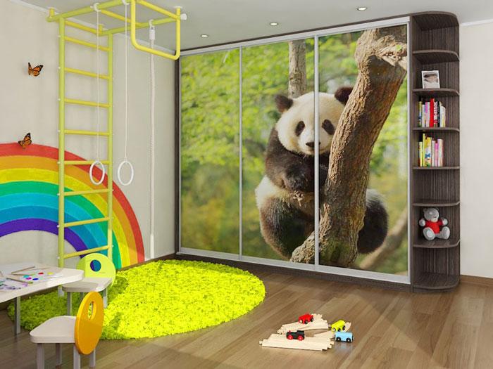 Шкаф-купе панда